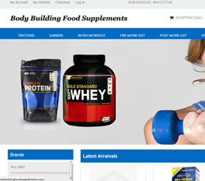 Boby Buuilding Food Supplements